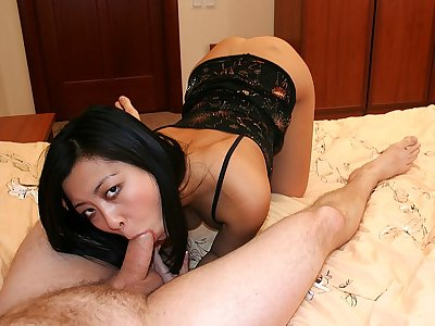 High Stilettos Fucky-fucky for Brown-haired Stunner