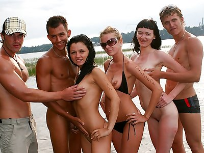 Kinky school anal invasion fuck-a-thon on a boat