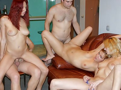 Really crazy soiree porno with a ginger-haired hotty